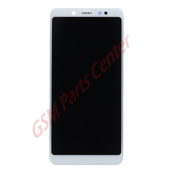 Xiaomi Redmi Note 5 LCD Display + Touchscreen + Frame White