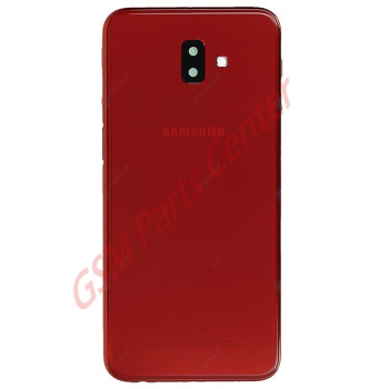 Samsung SM-J610F Galaxy J6+ Backcover GH82-17872B Red