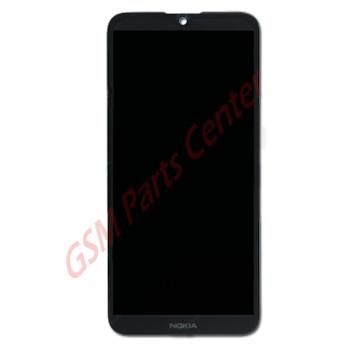 Nokia 4.2 (TA-1133; TA-1149; TA-1150; TA-1152; TA-1157) LCD Display + Touchscreen + Frame 12601009011 Black