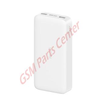 Xiaomi 20.000 mAh Redmi 18W Fast Charge Powerbank - White