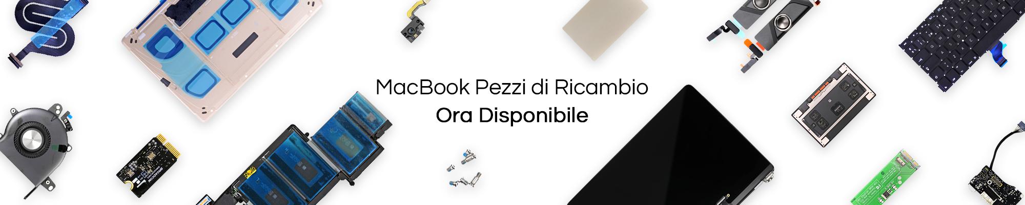 Nuovi pezzi di ricambio e accessori disponibili Apple Macbook