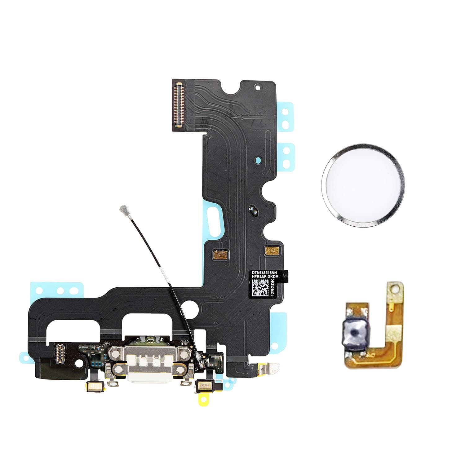 Apple iPhone 7 Charge Connector Flex Cable With Home Button Return