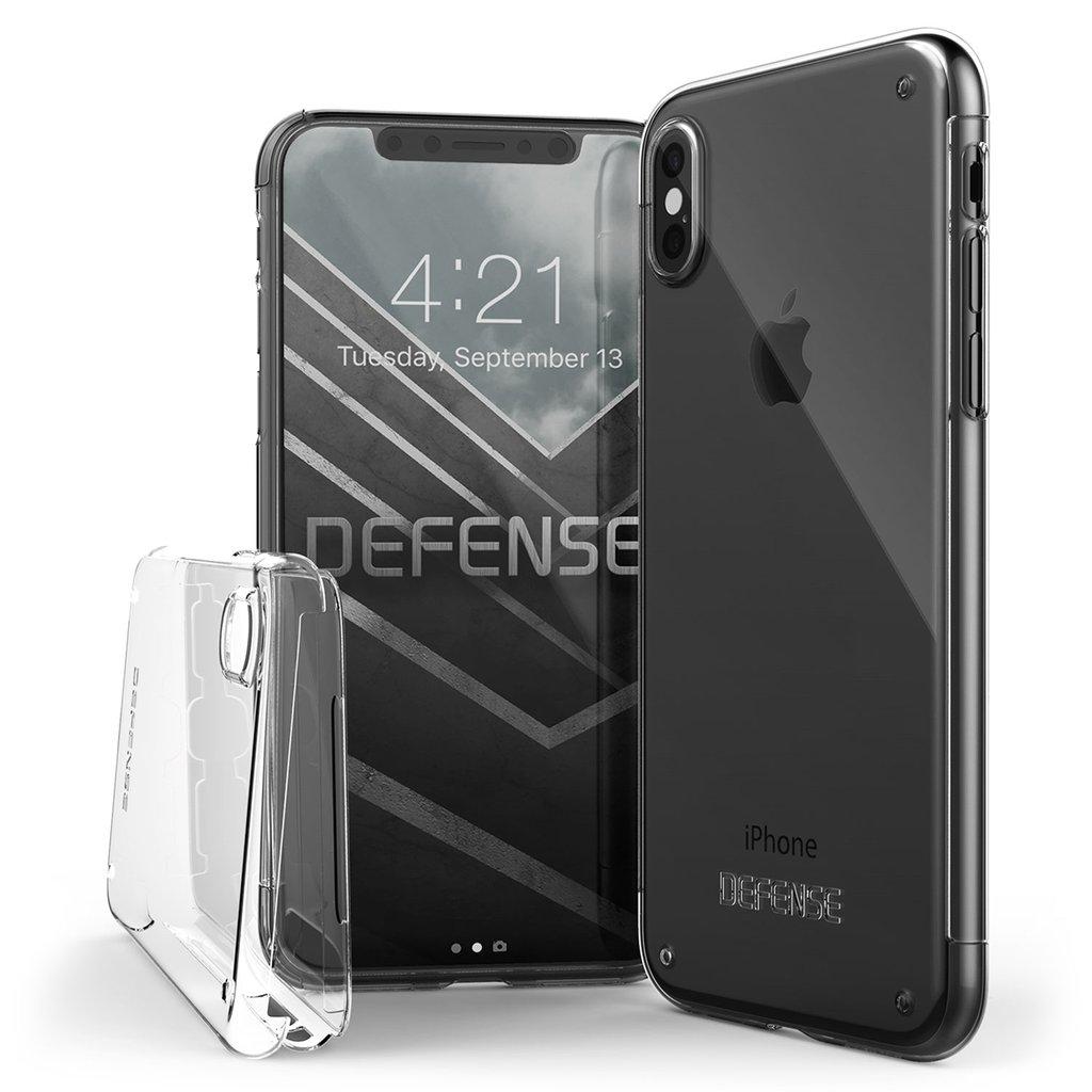 hot sale online 07ab7 9c979 X-doria Apple iPhone X/iPhone XS Hard Case Defence 360 3X2C0651A |  6950941460811 Transparent