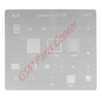 Sunshine SS-034 Apple iPhone 8/iPhone 8 Plus BGA Chip Ball Template Stencil