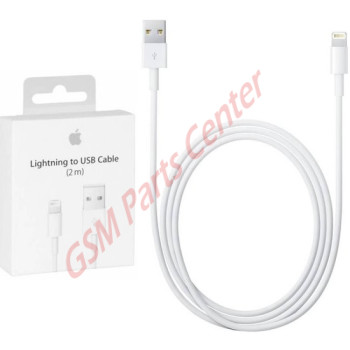Apple Lightning To USB Cable - 2 meter - Retail Packing - APMD819ZM/A