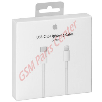 Apple USB-C to Lightning Cable - 2 Meter - Retail Packing - AP-MKQ42ZM/A