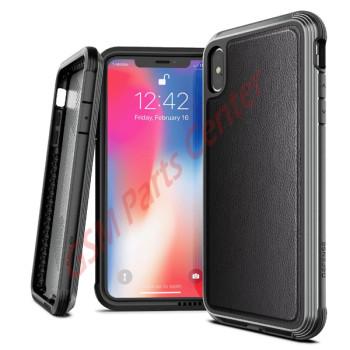 X-doria Apple iPhone XS Max Defence Lux - 3X4C0552B - Black Leather