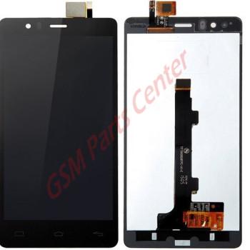 BQ Aquaris E5 LCD Display + Touchscreen (0858) - Black