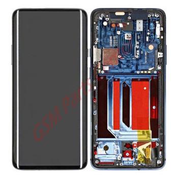OnePlus 7 Pro (GM1910) LCD Display + Touchscreen + Frame 2011100057 - Nebula Blue