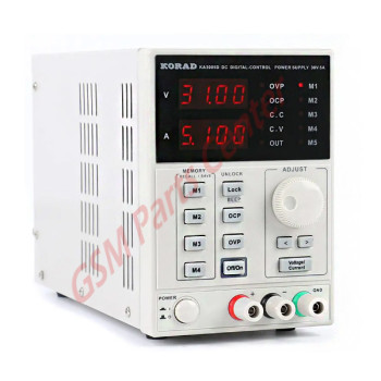 KORAD - Programmable DC Power Supply  5A/30V - KA3005D