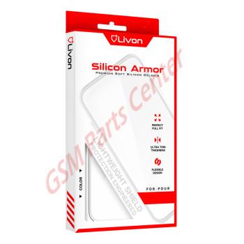 Livon Samsung SM-M205F Galaxy M20 Silicon Armor - Clear