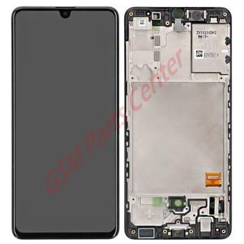 Samsung SM-A415F Galaxy A41 LCD Display + Touchscreen + Frame GH82-22860A Black