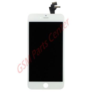 Apple iPhone 6 Plus LCD Display + Touchscreen - Refurbished OEM - White