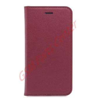 Apple Multiline iPhone 6 Plus Book Case - Red