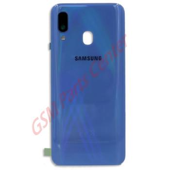 Samsung SM-A405F Galaxy A40 Backcover - With Camera Lens - Blue