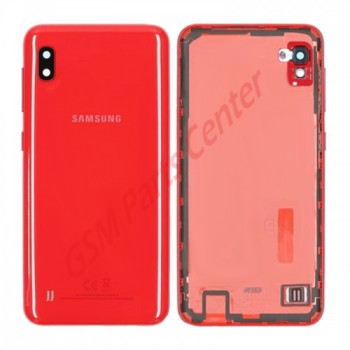 Samsung SM-A105F Galaxy A10 Backcover - With Camera Lens - Red