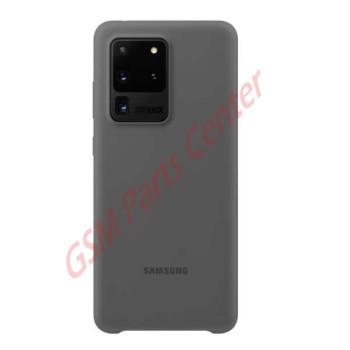 Samsung G988F Galaxy S20 Ultra 5G Silicone Cover EF-PG988TJEGEU - Grey
