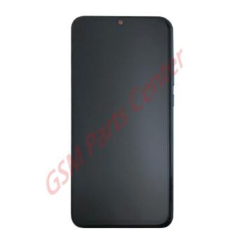Huawei P Smart (2019) (POT-LX1) LCD Display + Touchscreen + Frame Incl. Battery + Parts 02352JEY;02352JFA Black