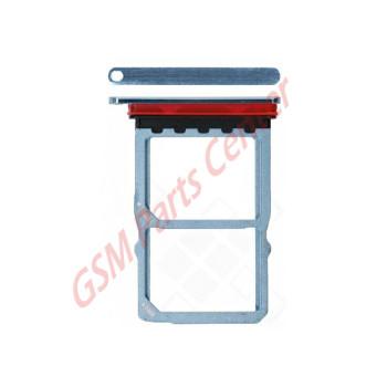 Huawei P30 (ELE-L29) Simcard holder + Memorycard Holder 51661LRA Crystal