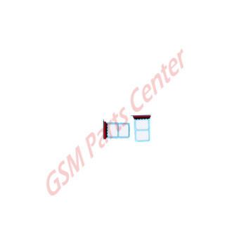 Huawei P30 (ELE-L29) Simcard holder + Memorycard Holder 51661MBV Blue