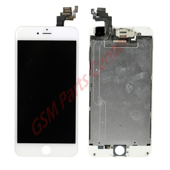 Apple iPhone 6 Plus LCD Display + Touchscreen - Refurbished OEM - Assembly - White