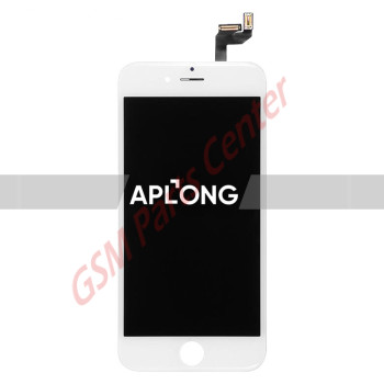 Apple iPhone 6S LCD Display + Touchscreen -  Aplong Quality - White