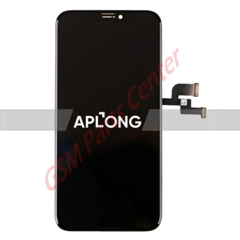 Apple iPhone X LCD Display + Touchscreen - Aplong OLED Quality - Black