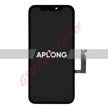 Apple iPhone XR LCD Display + Touchscreen - Aplong Quality - Black