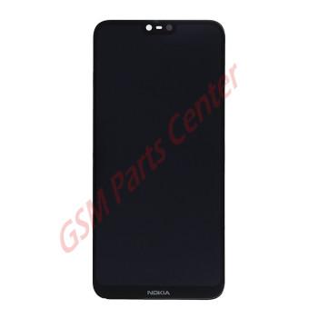 Nokia 6.1 Plus (Nokia X6) (TA-1103) LCD Display + Touchscreen 20PDABW0002 Black
