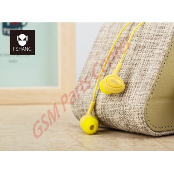 Fshang Smartphones Headset - A6 Series - Yellow