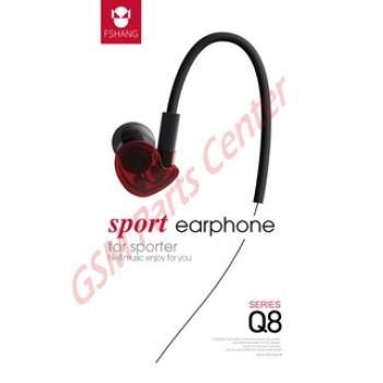 Fshang Smartphones  Headset - Q8 Series - White
