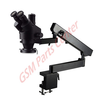 Professsional Flexible Trinocular Microscope - 40MP HDMI Camera included - incl. LED Light Ring