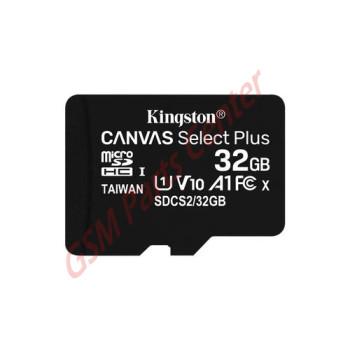 Kingston MicroSD Card - Incl. Adapter - 32GB