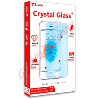 Livon Apple iPhone 6 Plus Tempered Glass Matte White