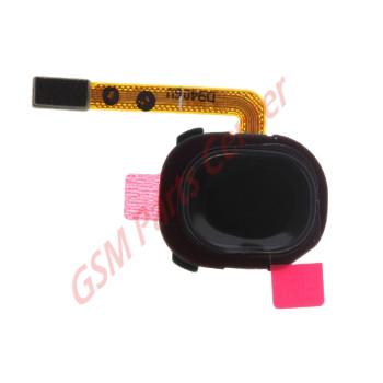 Samsung SM-A202F Galaxy A20e Fingerprint Sensor Flex Cable GH96-12565A Black
