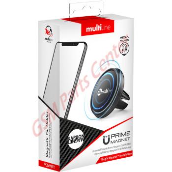 Multiline Prime Magnet Phone Holder - Karbon Black