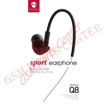 Fshang Smartphones Headset - Q8 Series - Red