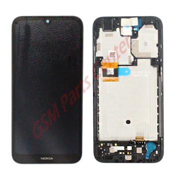 Nokia 1.3 (TA-1205;TA-1216) LCD Display + Touchscreen + Frame 712601015371 Black