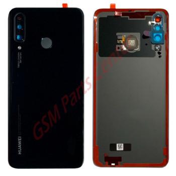 Huawei P30 Lite (MAR-LX1M)/P30 Lite New Edition (MAR-L21) Backcover 02352RPV Black