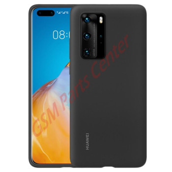 Huawei P40 Pro (ELS-NX9) Silicon Protective Case - 51993797 - Black