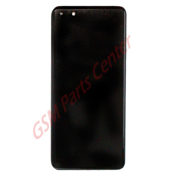 Huawei P40 Pro (ELS-NX9) LCD Display + Touchscreen + Frame Incl. Battery and Parts 02353PJK White