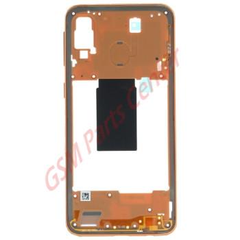 Samsung SM-A405F Galaxy A40 Midframe GH97-22974D Coral