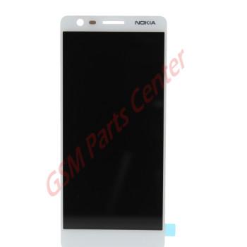 Nokia 3.1 (TA-1049) LCD Display + Touchscreen SLT2J101X00 White