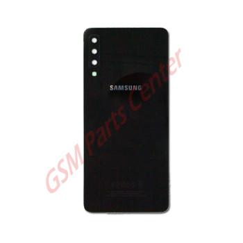 Samsung SM-A750F Galaxy A7 2018 Backcover + Camera Lens Black