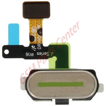 Samsung J530F Galaxy J5 2017 Home button Flex Cable + Button + Fingerprint sensor GH96-10801C Gold
