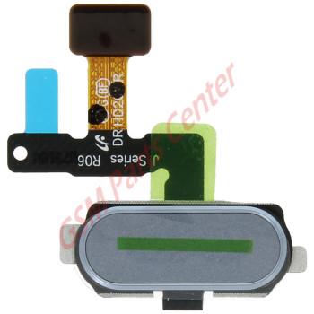 Samsung J530F Galaxy J5 2017 Home button Flex Cable + Button + Fingerprint sensor GH96-10801A Blue