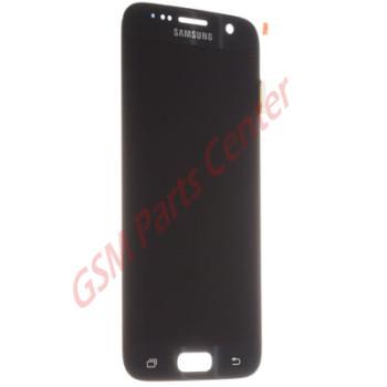 Samsung G930F Galaxy S7 LCD Display + Touchscreen GH97-18523A Black