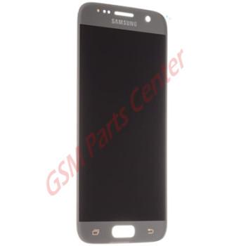 Samsung G930F Galaxy S7 LCD Display + Touchscreen GH97-18523B Silver