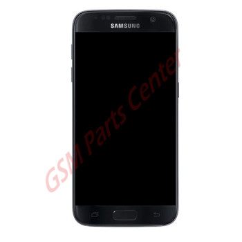 Samsung G930F Galaxy S7 LCD Display + Touchscreen - Pulled Complete Assembly - Black