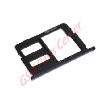 Samsung J530F Galaxy J5 2017 Simcard holder + Memorycard Holder GH64-06366A Black